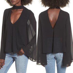 Show Me Your Mumu black Olsen top XL